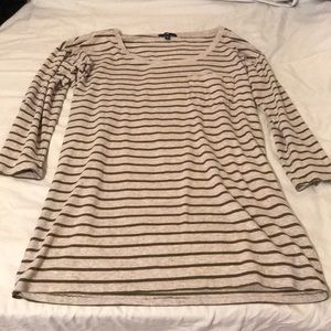 Gap green striped top